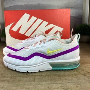 NEW Nike Air Max Sequent White Sneaker / 7. 8, 9